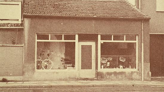 Fahrradgeschäft Kreuzstraße - Historie