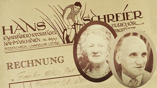 Johann und Anna Schreier - Historie
