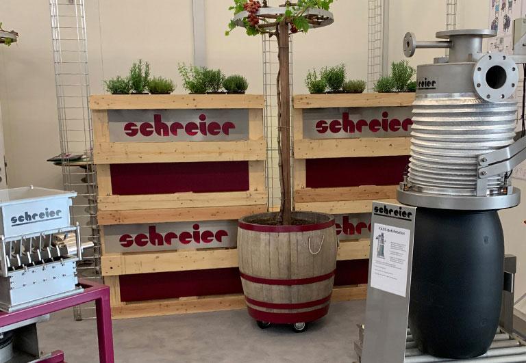 Powtech Nuremberg 2019 barrel filling