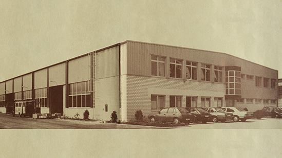 Produktionshalle Industriestraße - Historie