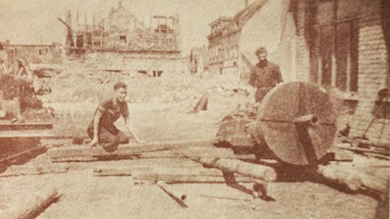 Schreier-Wiederaufbau Nachkriegszeit - Historie