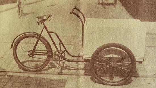 Schreier-Dreirad-Lieferwagen - Historie