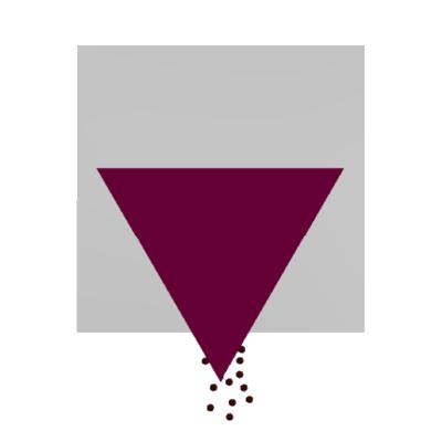 Entleeren Icon - Schüttguttechnologie