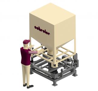 Container-Entleerstation