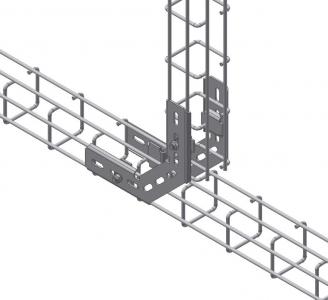 mesh cable tray angle