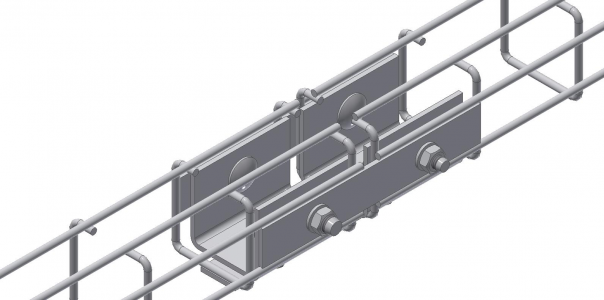 mesh cable tray side connectors